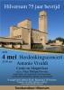 AFGELAST - Herdenkingsconcert 2020
