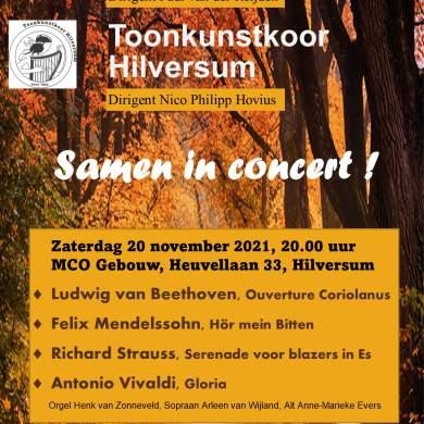 Twee Hilversumse muziekverenigingen samen in concert